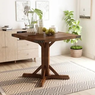 wood table kitchen best floor cleaner buy dining room tables online at overstock com our banea industrial 40 25 inch brown cherry counter height by foa