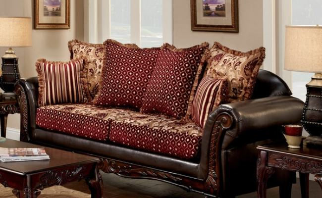 Shop Furniture Of America Halliway Traditional Two Tone