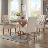 Shop Benchwright Rustic X-base 48-inch Round Dining Table ...