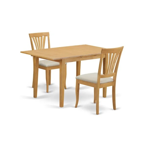 Shop 3Piece Small Kitchen Table Set  Free Shipping Today