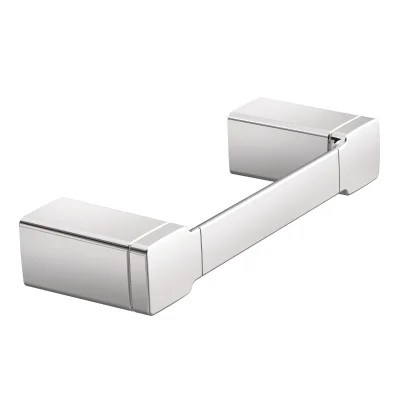 Moen 90 Degree Chrome Towel Bar/Towel Ring, Chrome