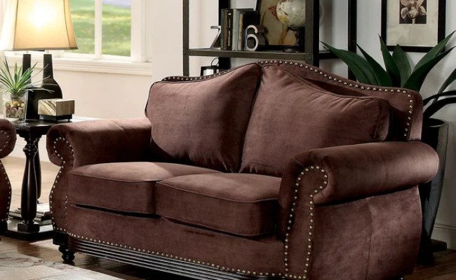 Shop Furniture Of America Garland Traditional Camelback