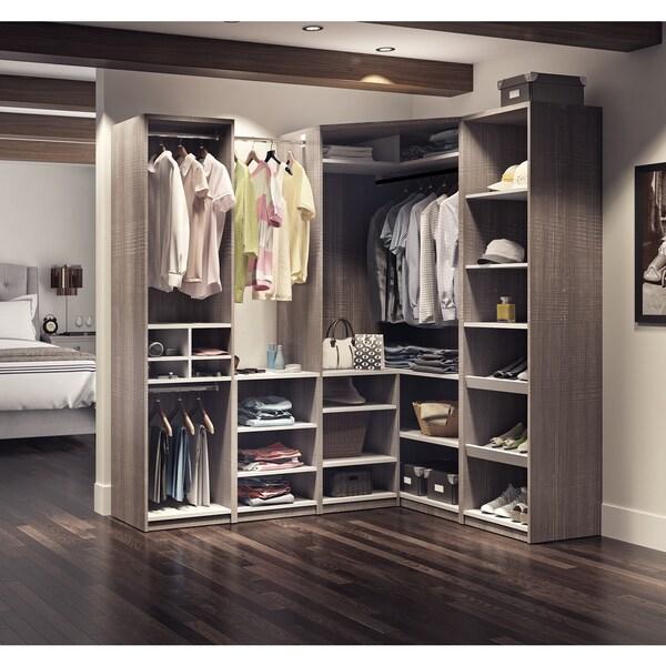 Shop Cielo by Bestar Classic Corner WalkIn Closet  Free