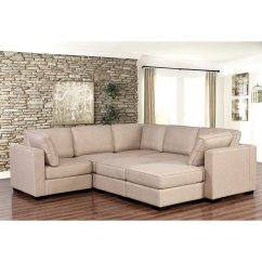 Harper Fabric 6 Piece Modular Sectional Sofa George Nelson Marshmallow 7 Marks And Cohen Hayden 8
