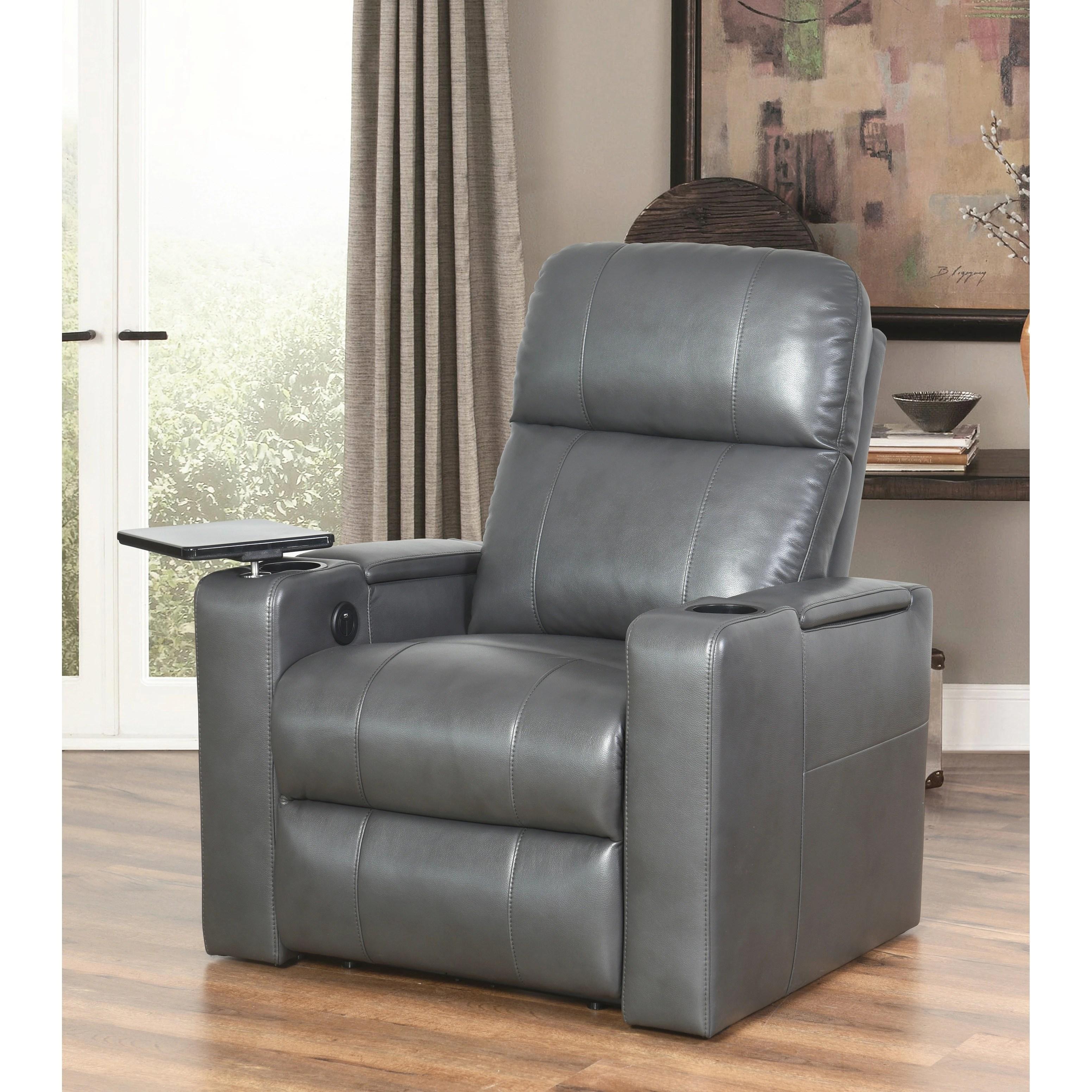 abbyson living bradford faux leather reclining sofa dark brown steel legs rider theater recliner ebay