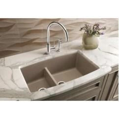 Blanco Kitchen Sink Crosley Alexandria Island Shop Performa Undermount Truffle Granite Free Shipping Today Overstock Com 14458364