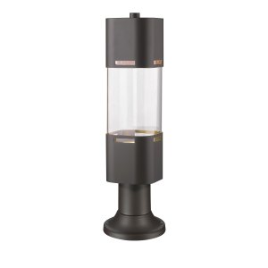Avery Home Lighting Lestat Deep Bronze 1 Light Outdoor LED Post Head with Pier Mount