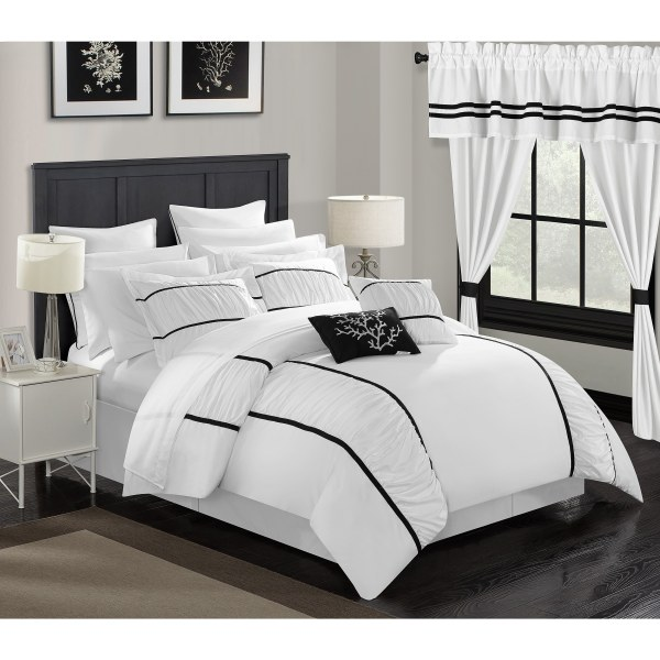 Chic Home 24-piece Auburn King Bed In Bag Comforter Set