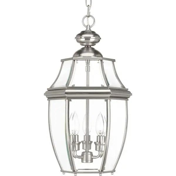 Shop Progress Lighting New Haven 3-light Hanging Lantern