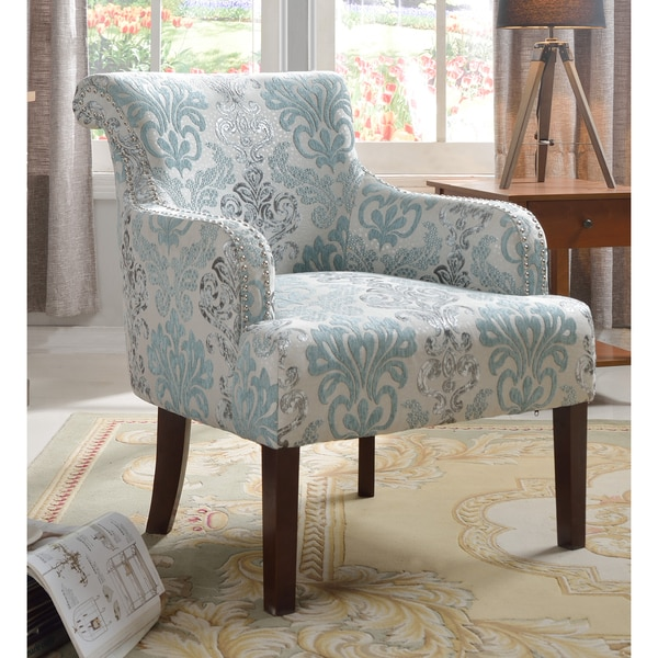 Light Teal Accent Chair