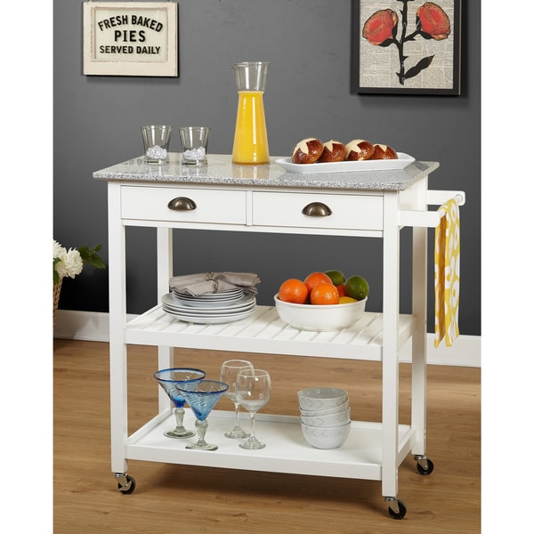 simple kitchen island affordable outdoor kitchens shop living oregon 2 drawer rolling on sale