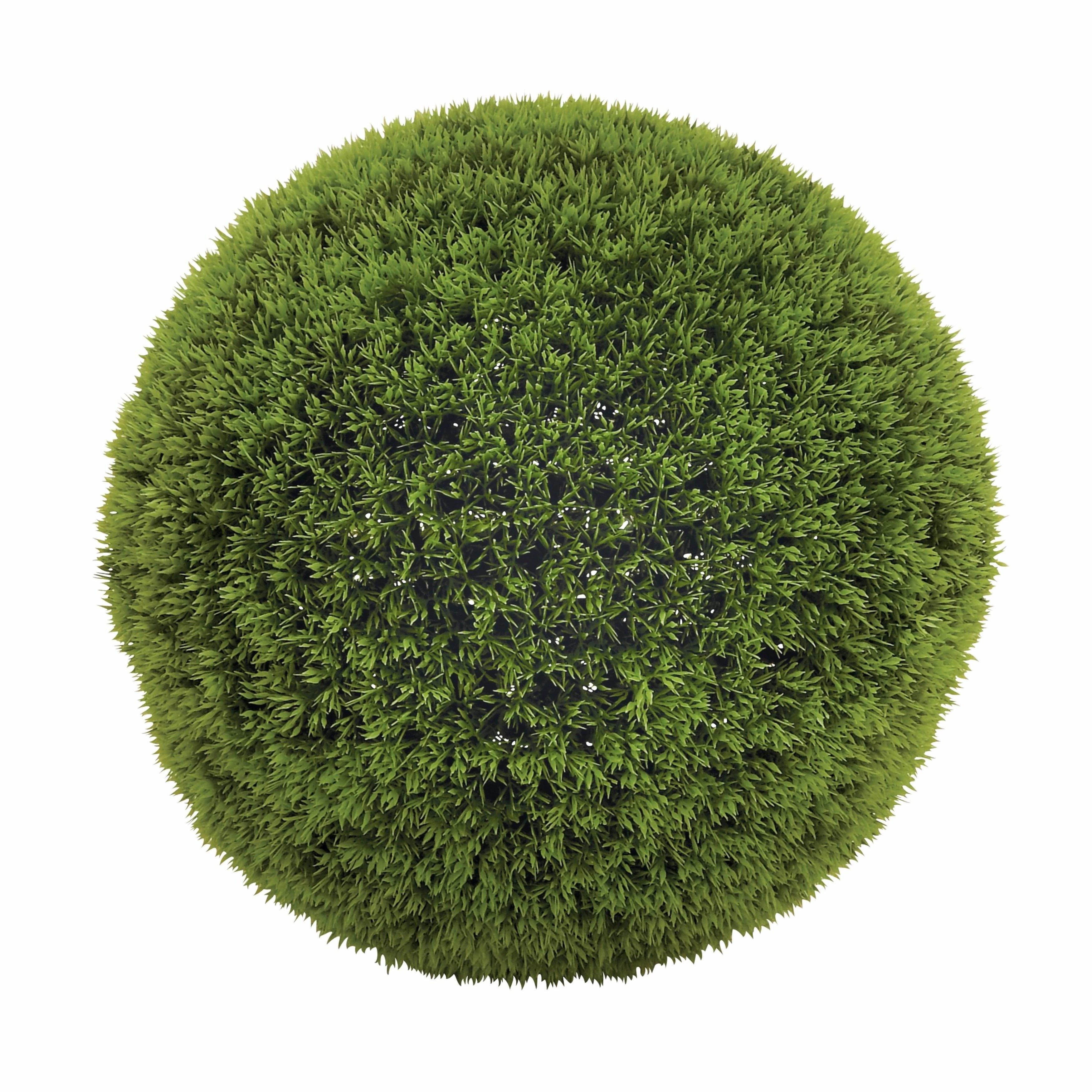Clay Alder Home Hueguenot Green Vinyl Grass 15-inch Decorative Ball