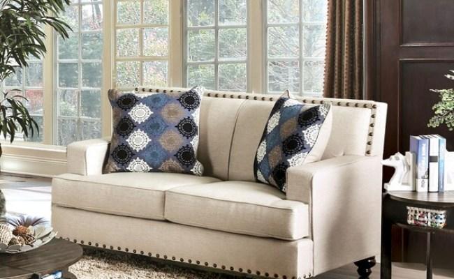 Shop Furniture Of America Diane Transitional Nailhead