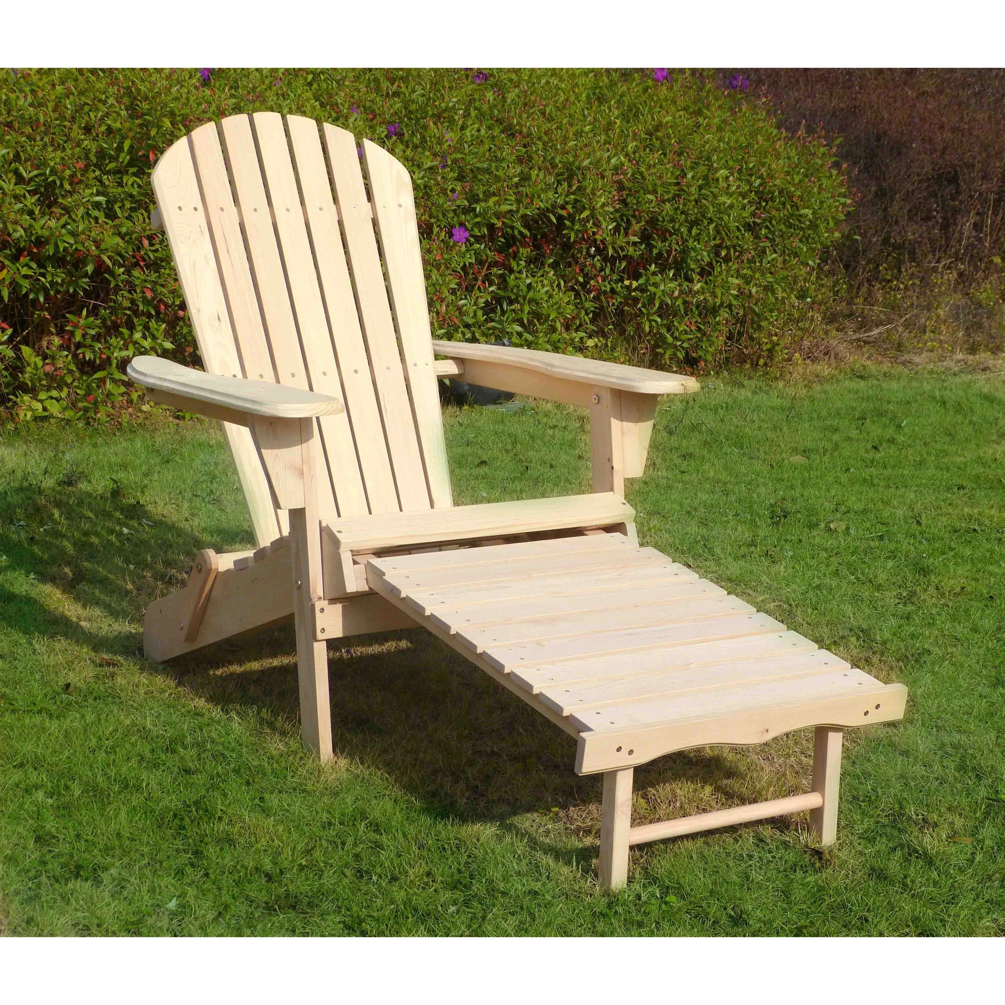 adirondack chairs kits party for rent shop merry products chair kit with pullout ottoman free shipping on orders over 45 overstock com 14595228