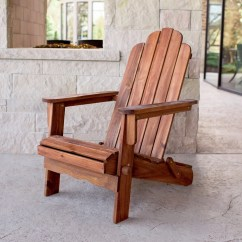 Gray Adirondack Chairs Leather Wingback Chair Next Shop Acacia Patio Brown Free Shipping