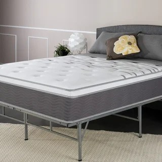 Priage Performance Plus 12 Inch Twin Size Extra Firm Pocketed Coil Spring Mattress