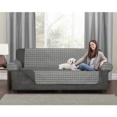 Buffalo Check Sofa Cover Scott Jordan Sleeper Review Maytex Reversible 3 Piece Furniture