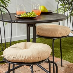 16 Inch Round Chair Cushions Heated Vibrating Outdoor And Pillows For Less Overstock