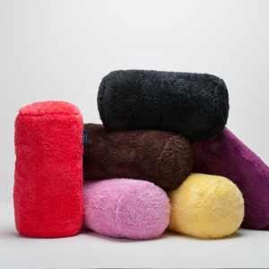 Berkshire Blanket Extra-Fluffy Short Bolster Throw Pillow