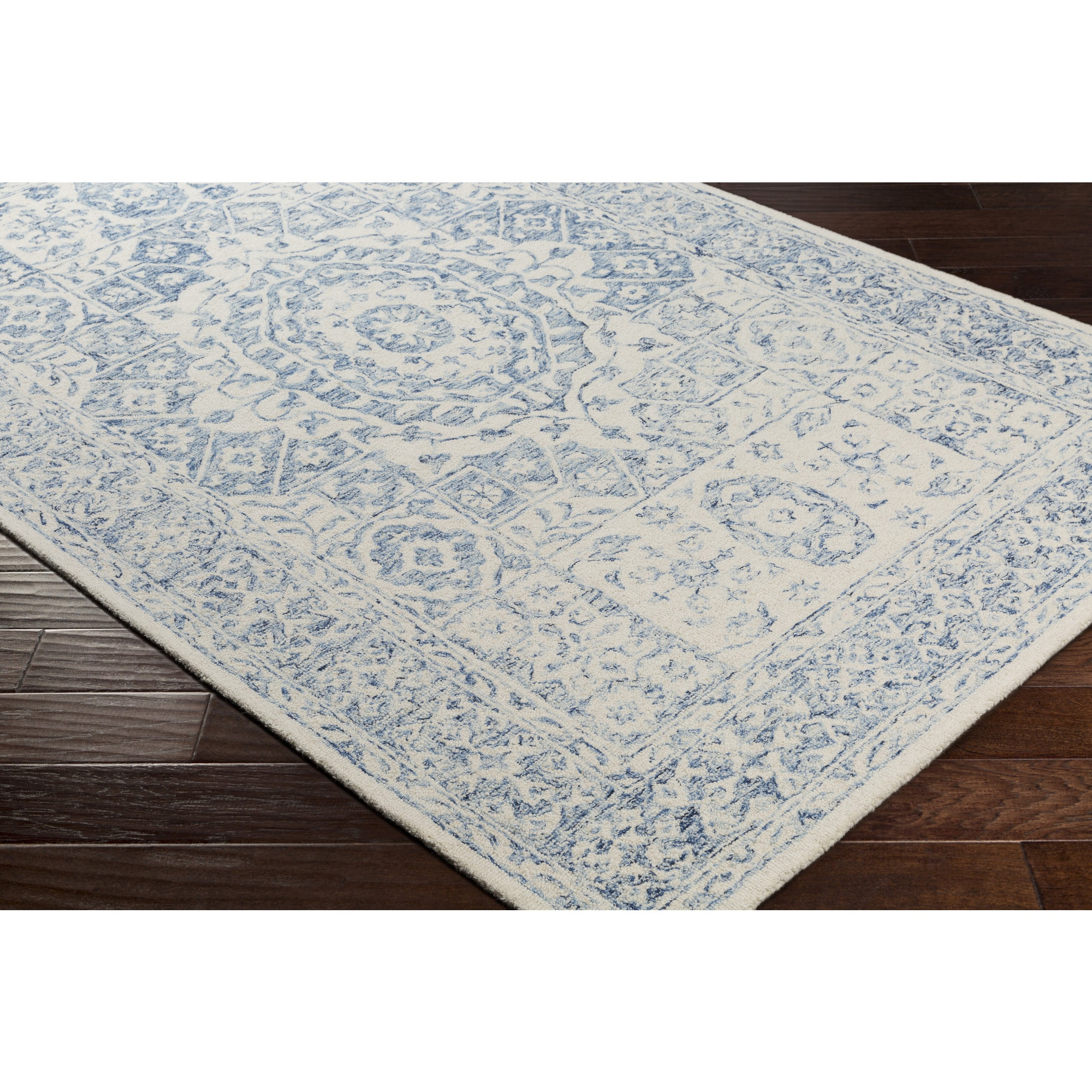 Copper Grove Sandbank Hand-hooked Wool Area Rug - 3'3 x 5'3