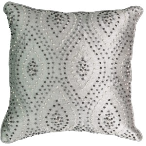Beautyrest Chacenay Knotted Embroidery Decorative Throw Pillow