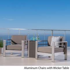 Outdoor Aluminum Chairs Wheel Chair Motor Patio Furniture Find Great Seating Dining Deals Shopping At Overstock Com