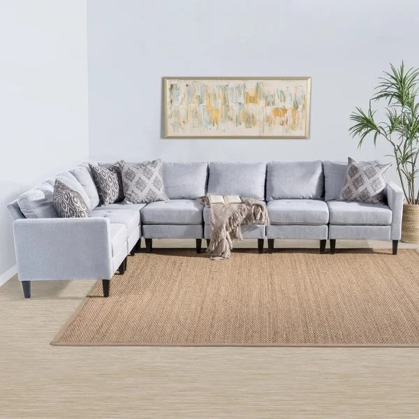 7 Piece Sectional Sofa Lachlan 7 Piece Sectional W 2