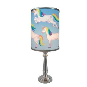 Playful Unicorns More Than A Lamp, Framed Art Now Comes Down From The Wall