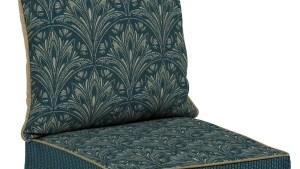 Shop Bombay Outdoors Royal Zanzibar Blue Deep Seat Cushion