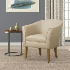 Overstock Com Chairs Ikea Ghost Chair Buy Club Living Room Online At Our Homepop Modern Barrel Accent Flax Brown