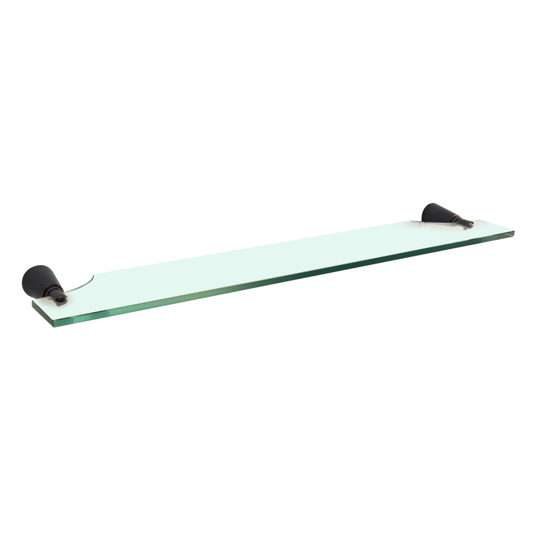 Maykke Soma Bathroom Accessory Modern Glass Shelf