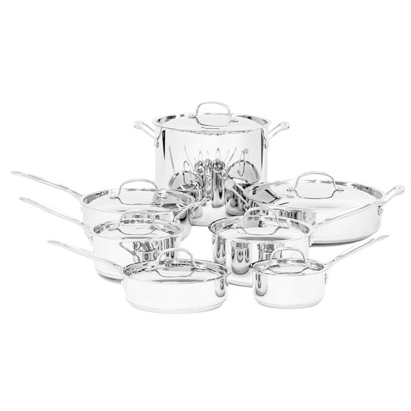 Shop Cuisinart Chef's Classic Stainless 14-Piece Cookware