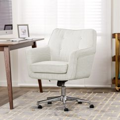 Serta Office Chair 10 Year Warranty Desk Pad Shop Ashland Ivory Home Free Shipping Today