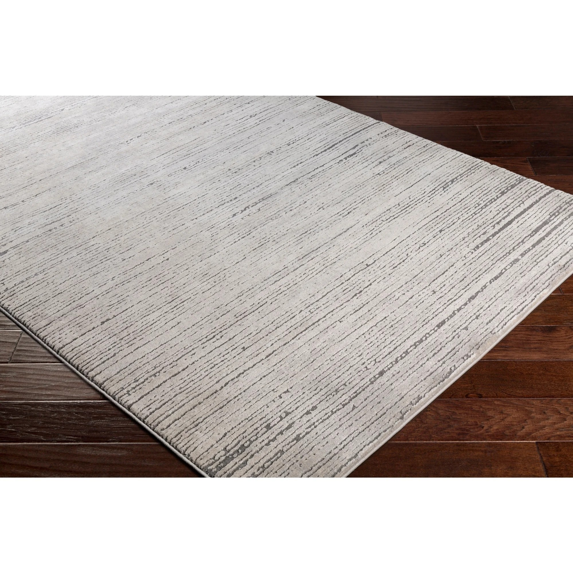 tranquil modern grey taupe area rug