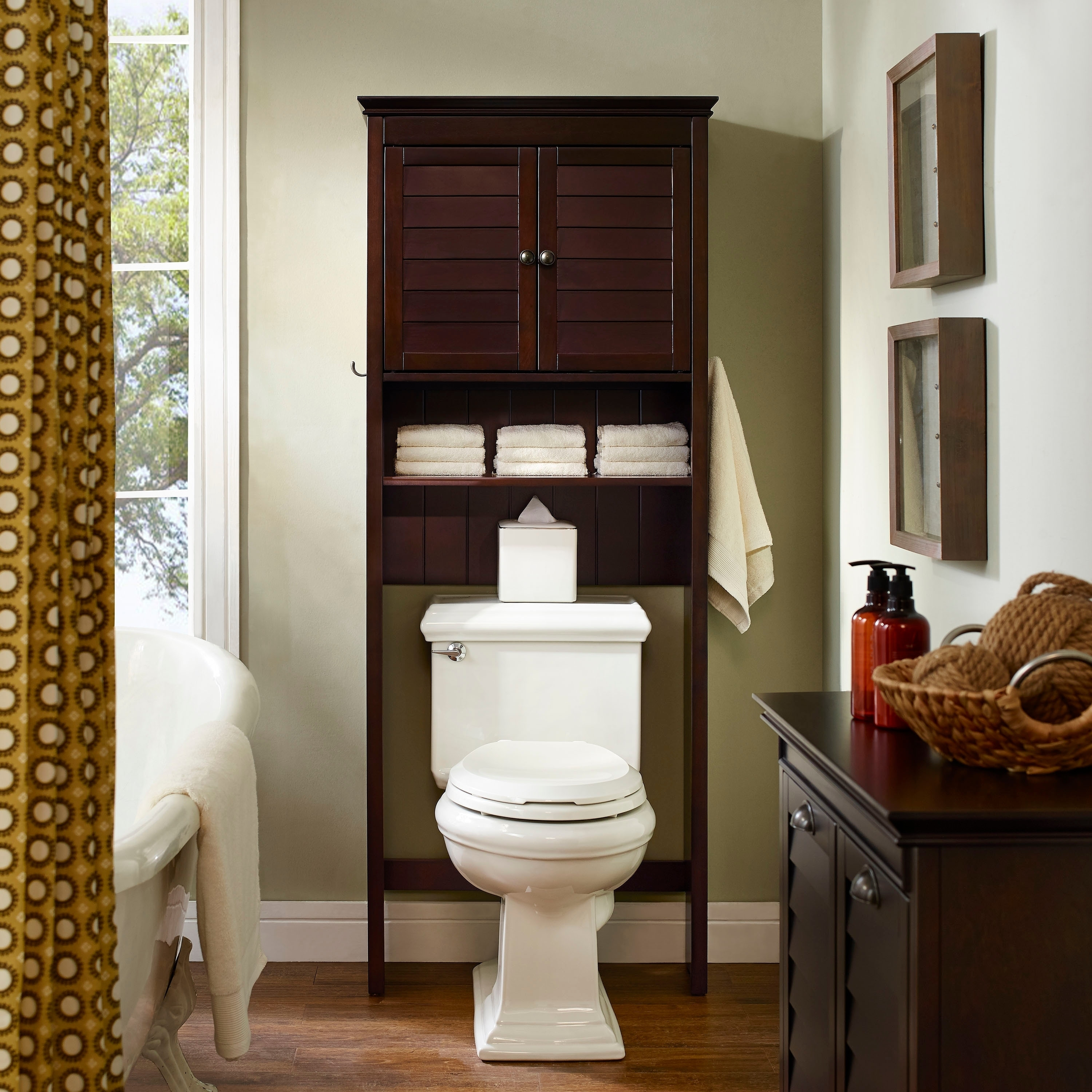 Bathroom Toilet Cabinets Buy Bathroom Cabinets Storage Online At Overstock Our Best