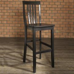High Bar Stool Chairs Folding Outdoor With Canopy Shop School House Black 30 Inch Set Of 2 Free