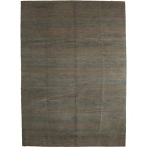 Hamirdah Beige Wool Han-knotted Area Rug (8'9 x 12'1)
