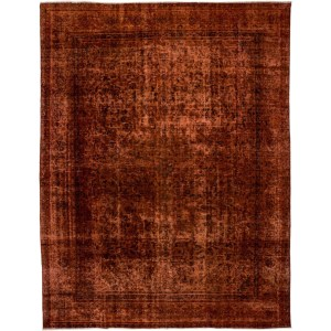 "Distressed Kemanoluk Hand Knotted Area Rug - 9'4"" X 12'"