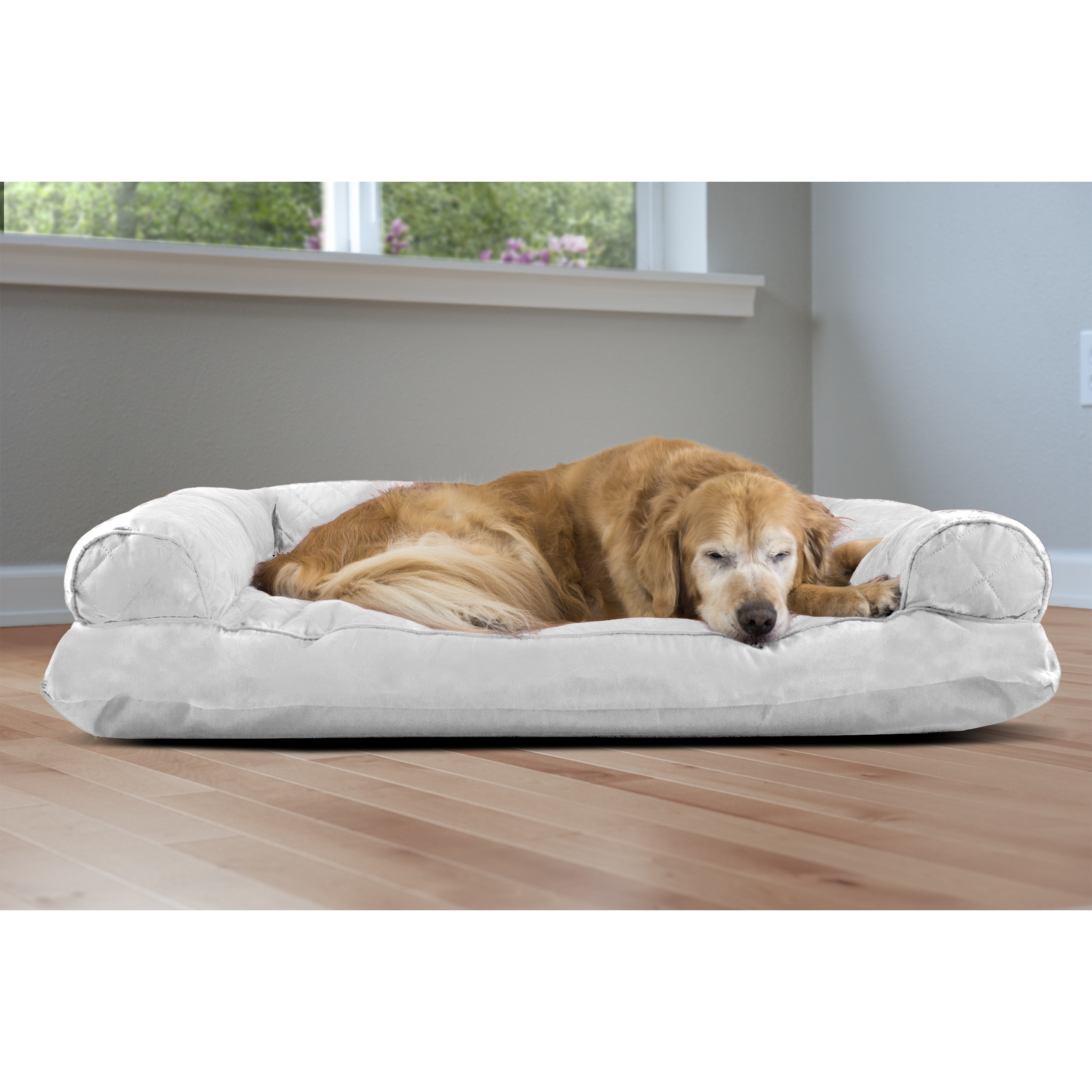 panache dog sofa microfiber cleaning products pet bed beds you ll love wayfair thesofa