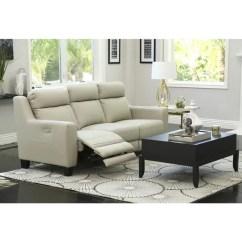 Grey Power Reclining Sofa Craigslist Dc Sleeper Shop Abbyson Stanford Leather On Sale