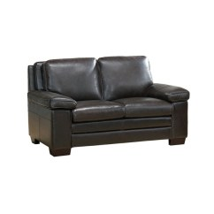 Miramar Leather Sofa Harrison Sofascore Shop Loveseat Free Shipping Today Overstock Com