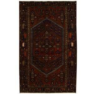 Handmade Herat Oriental Persian Tribal Hamadan Wool Rug (Iran) - 4'3 x 6'10