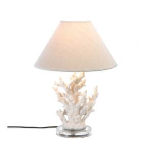 Koehler Home Decor White Coral Table Lamp