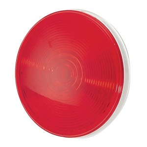 Pilot Automotive Red NV5012R 12 Volt 4-inch Round Stop/ Turn and Tail Light