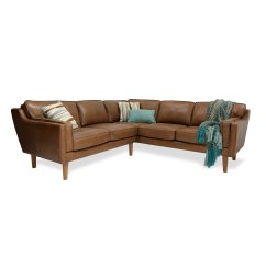 Darrin Leather Sofa Reviews Best Futon Bed Uk Beatnik Oxford Tan Decorist