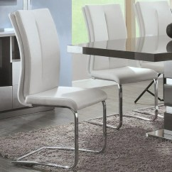 Cream Upholstered Dining Chairs Throne Shop Modern Italian Design White Set Of 2
