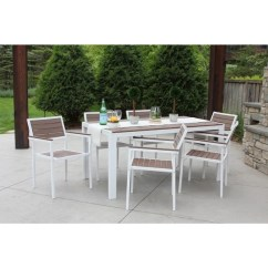 All Weather Garden Chairs Ergonomic Posture Kneeling Chair Shop Discontinued 7 Piece Outdoor Patio Furniture Deck Dining Set White Bay