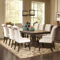 Shop French Baroque Designed Dining Set with Rolled Back ...