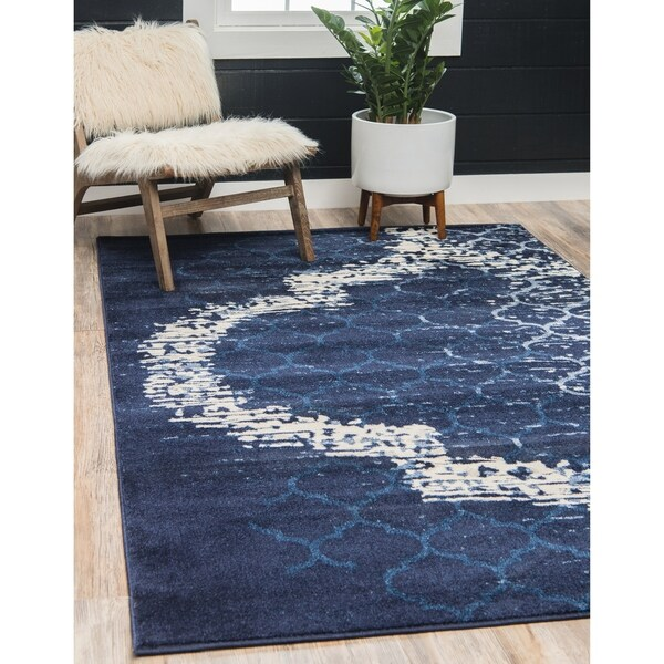 Shop Unique Loom Baltimore Trellis Rug 8 X 10 Free Shipping Today Overstock 16327426