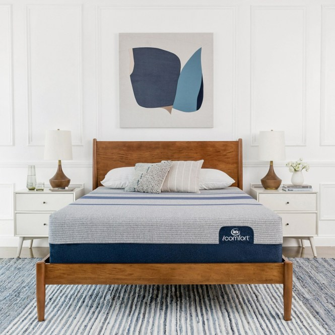 Serta Icomfort Blue Max 1000 13 Inch Plush California Kin